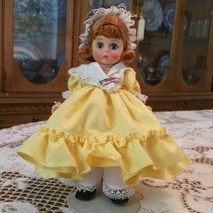 "Vintage Madame Alexander Curly Locks Doll 8"" 1960"